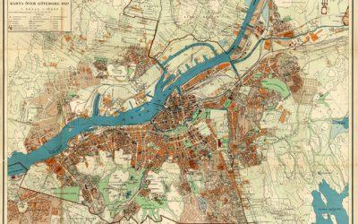 Lilienbergs stad. Göteborg 1900–1930