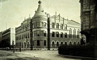 KJELLBERGSKA FLICKSKOLAN50 år sedan byggnaden försvann
