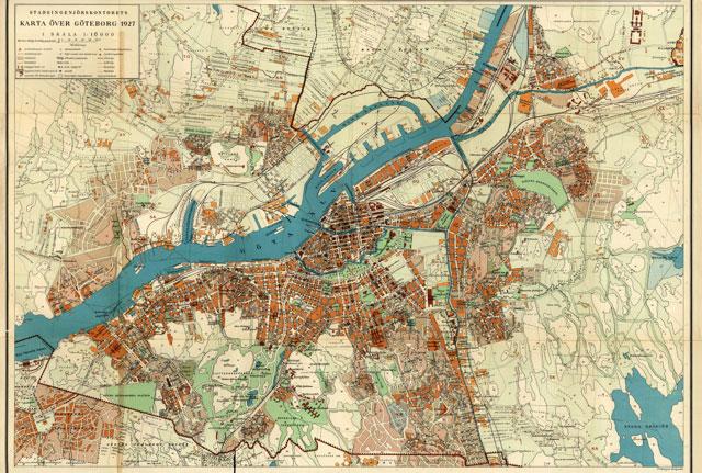 Forskningsprojektet Lilienbergs Stad Goteborg 1900 1930