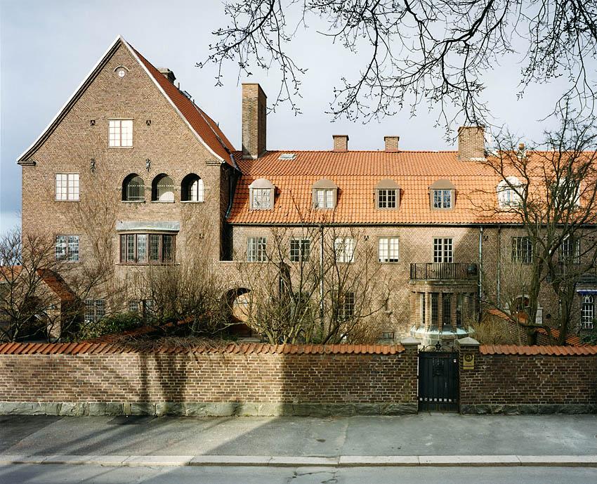 Dicksonsgatan arkitekt Arvid Bjerke 1915. Foto Krister Engström 2013