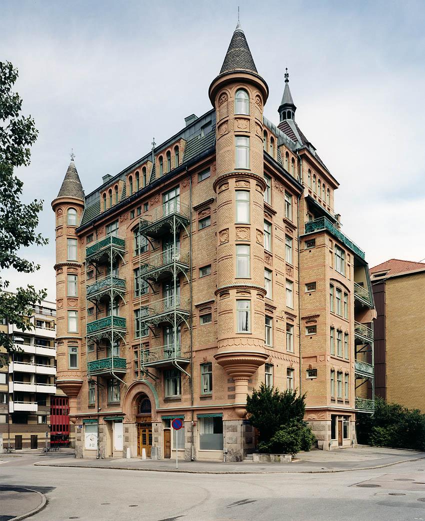 Föreningsgatan 2, arkitekt Louis Enders 1902. Foto Krister Engström 2013