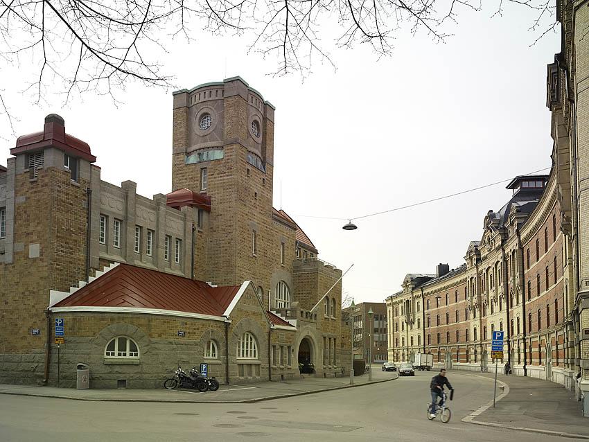 Göteborgs fd Elektricitetsverk, arkitekter Hans & Björner Hedlund. Foto Krister Engström 2013