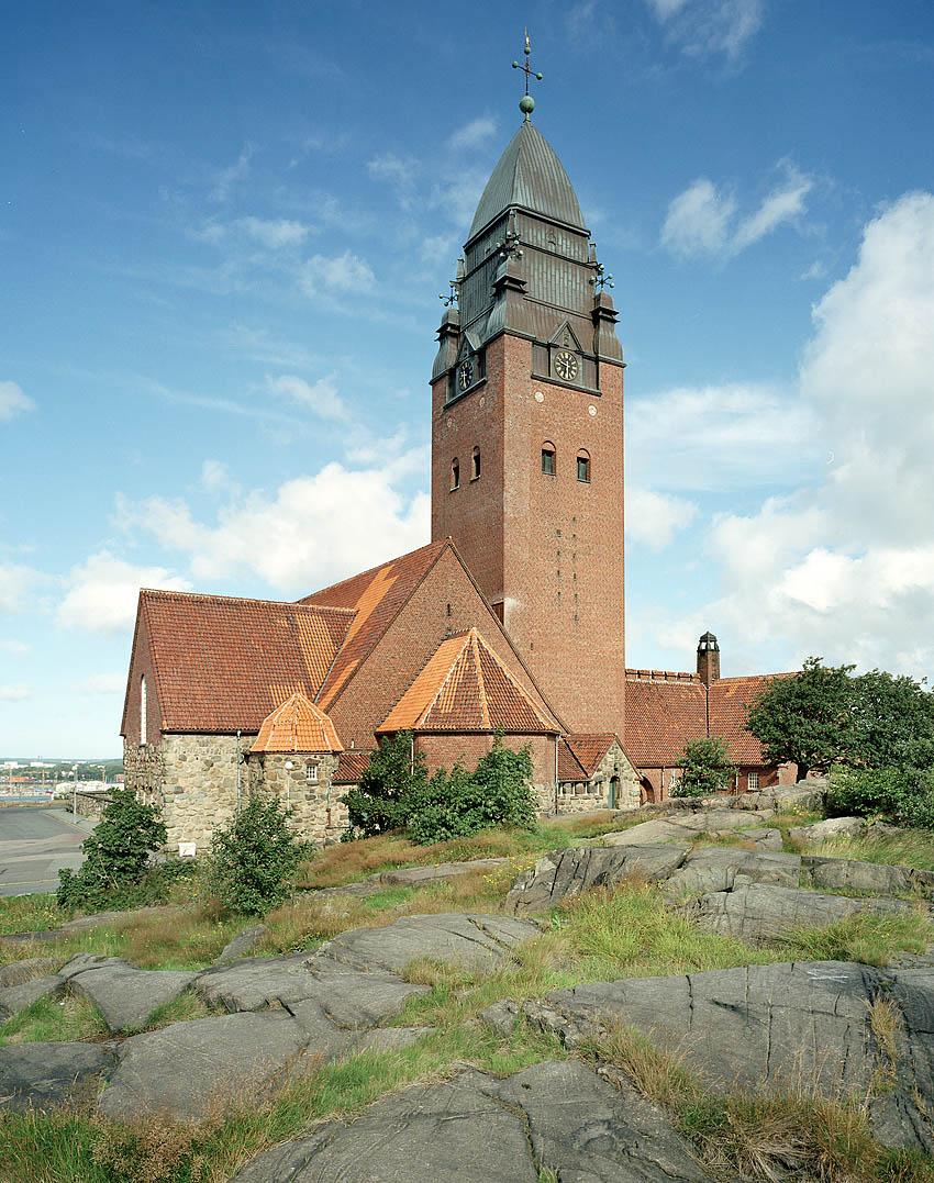 Masthuggskyrkan arkitekt Sigfrid Ericson 1914. Foto Krister Engström