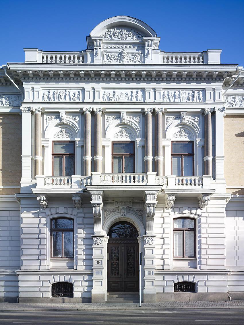 Wernerska Villan alias Wijks Villa, arkitekt Adrian Peterson 1889. Foto Krister Engström 2013