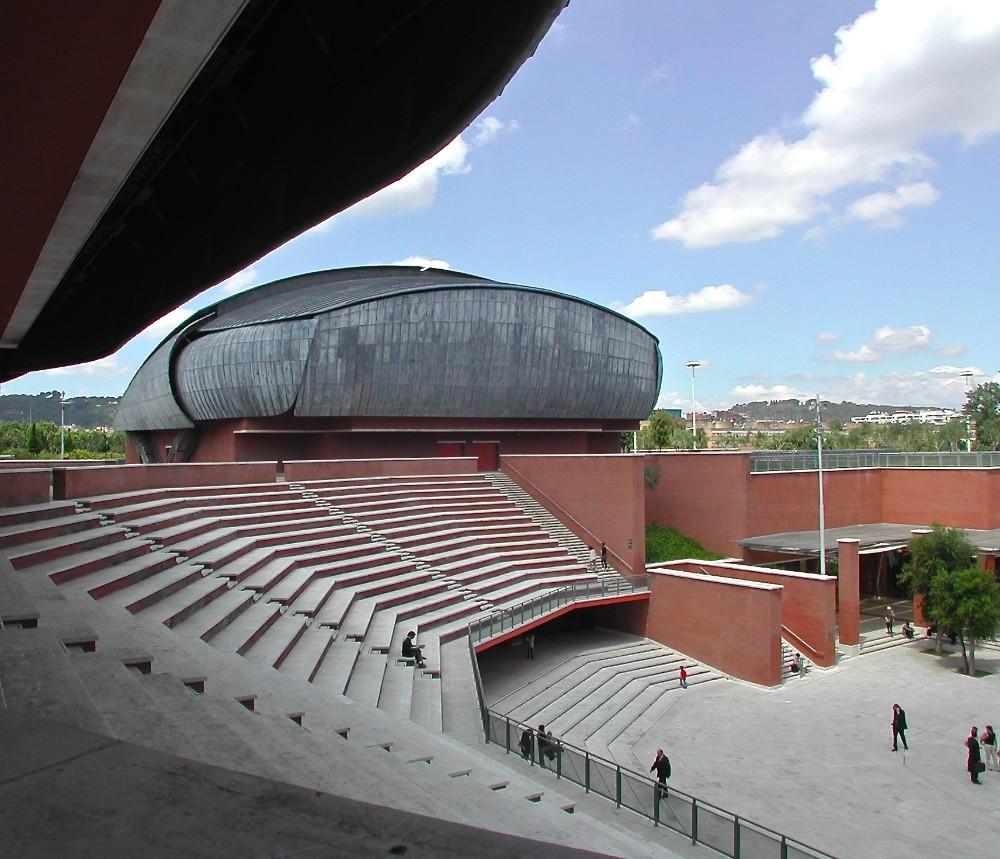 Auditorium arkitekt Renzo Piano 2002, foto Bjur arkitekter
