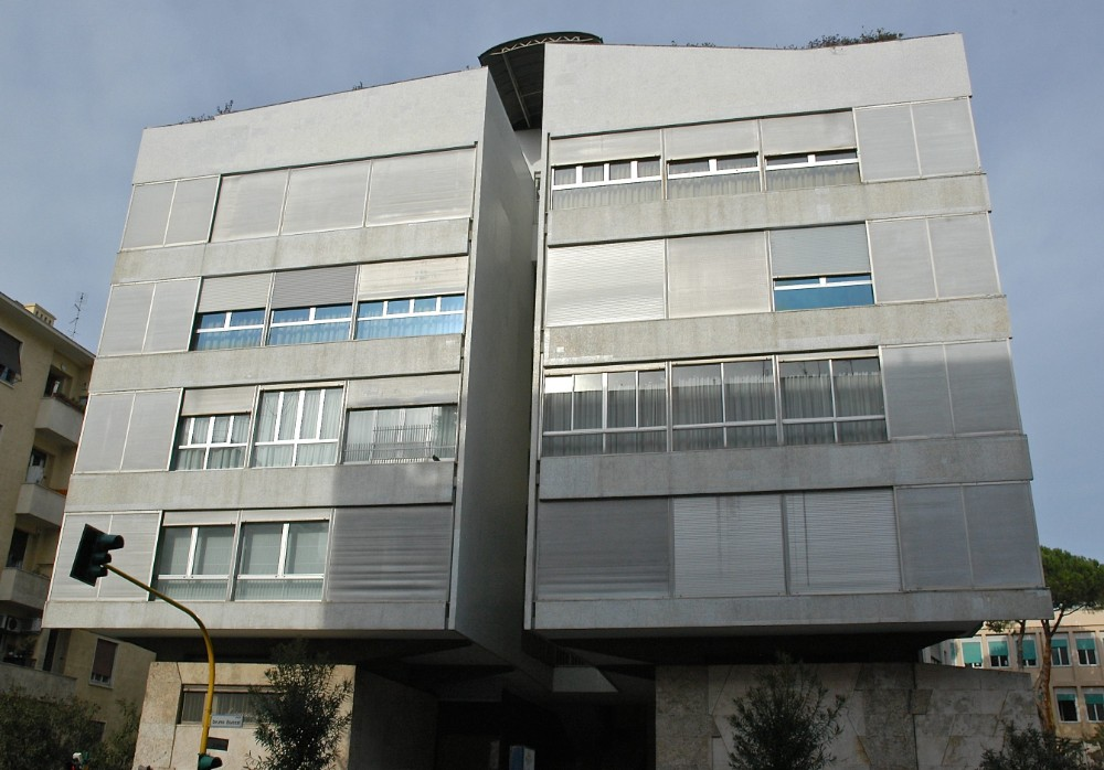Casa del Girasole, arkitekt Luigi Moretti 1950, foto Bjur arkitekter 2007
