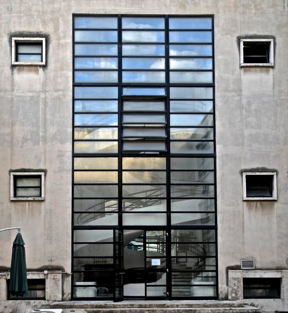 GIL, Casa della Gioventù Italiana del Littorio i Trastevere, arkitekt Luigi Moretti 1936, foto Bjur arkitekter 2014