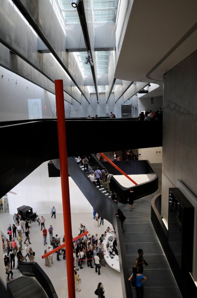 Konstmuseet MAXXI, arkitekt Zaha Hadid 2012, foto Bjur arkitekter 2012
