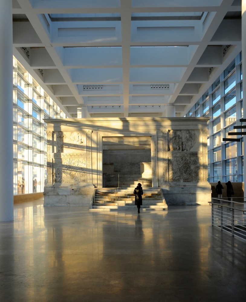 Museo Ara Pacis, arkitekt Richard Meier 2006, foto Bjur arkitekter 2008