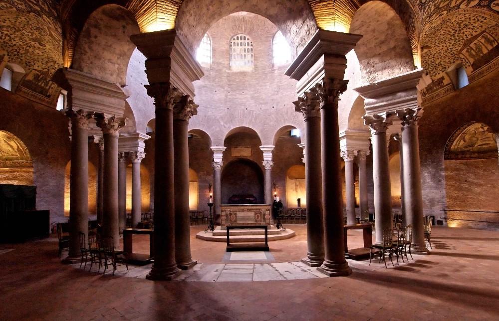Santa Costanza, ursprungligen Constantinas mausoleum från 300-talet, foto Bjur arkitekter 2014
