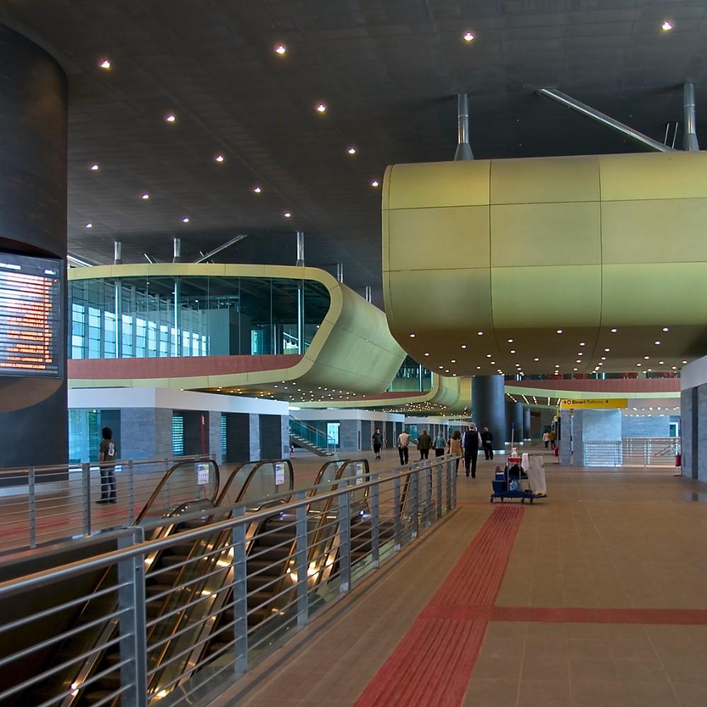 Stazione Tiburtina, ABDR architetti Paolo Desideri m fl 2011, foto Bjur arkitekter 2012